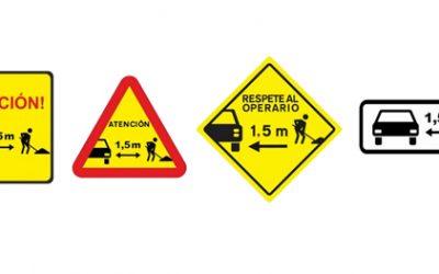 ACEX insta a la DGT a crear una señal específica que advierta de la presencia de operarios en la vía