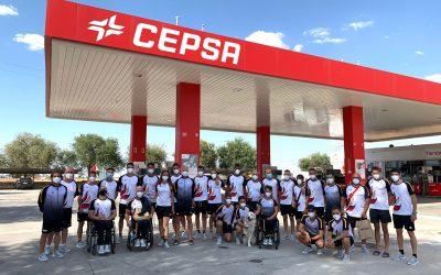 CEPSA garantiza el transporte seguro de los deportistas paralímpicos españoles hacia Tokio