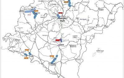 Navarra acomete la rehabilitación de los tramos más dañados de 12 carreteras con una inversión de 4 millones