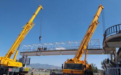 Iceacsa México supervisó la construcción y puesta en servicio de tres nuevas pasarelas peatonales del tramo Atlacomulco- Maravatío