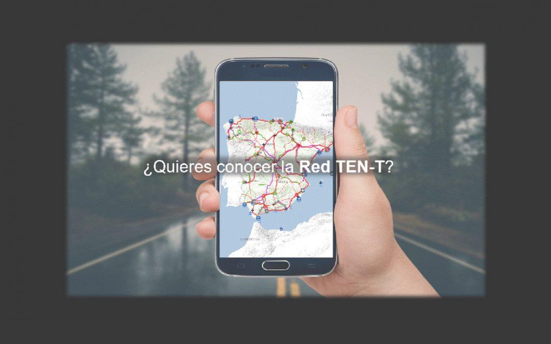Mitma publica una web para consultar la Red Transeuropea de Transporte